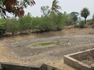 Remote village pond down south TamilNadu